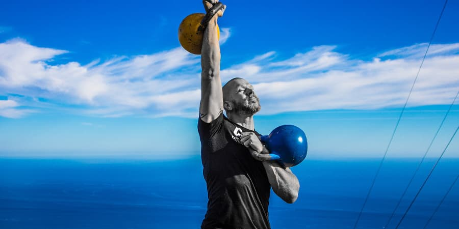 kettlebell beneficios pes rus girya crosfit training ventajas